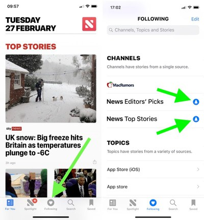 apple news app 1