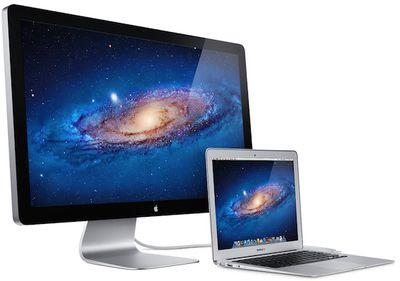 thunderbolt display macbook air