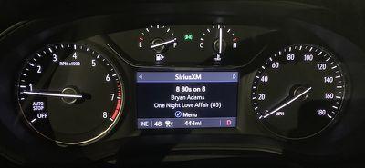 buick regal driver display