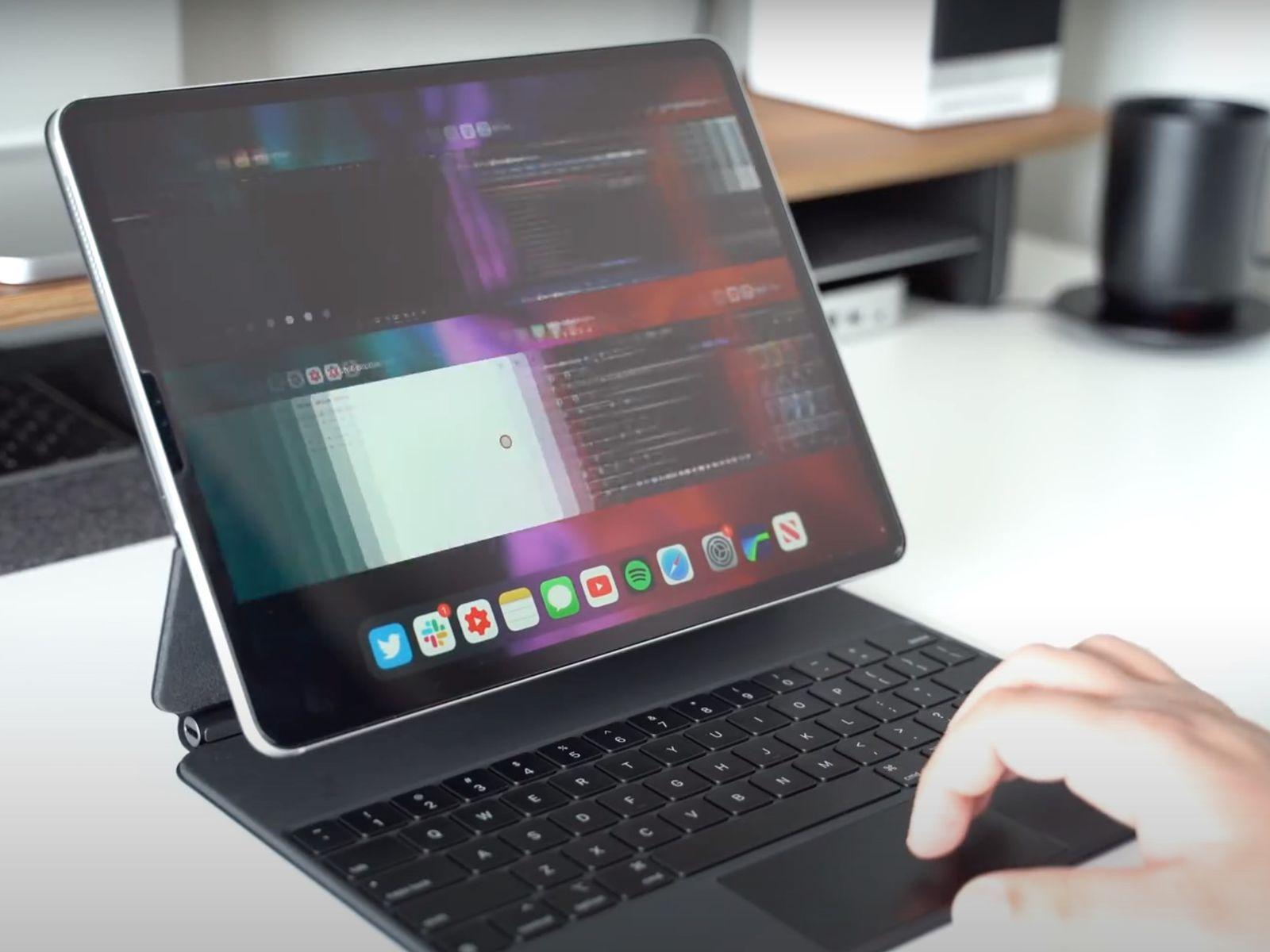 Tricks for the iPad Pro Magic Keyboard
