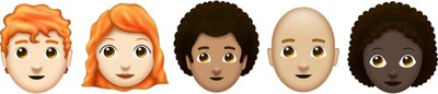 emoji 11 faces