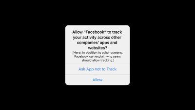 facebook ios 14 tracking prompt