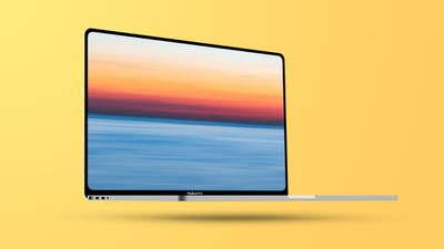 flat mbp 14 inch feature yellow
