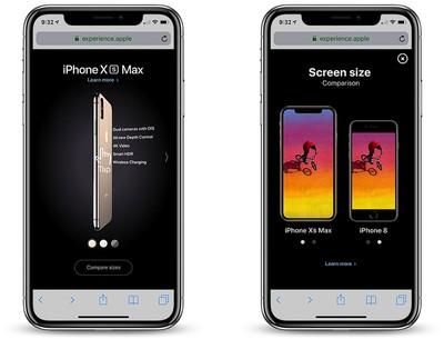 iphone xs micro site