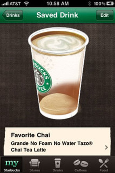 111541 starbucks fave drink
