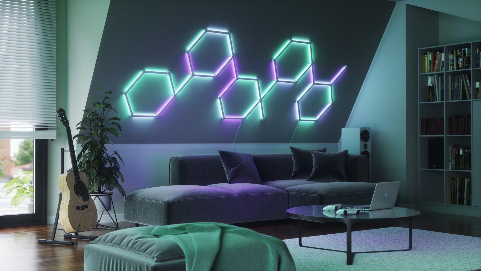 photo of Nanoleaf Launches 'Lines' LED Light Bars image