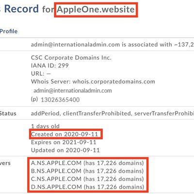 appleone website domain