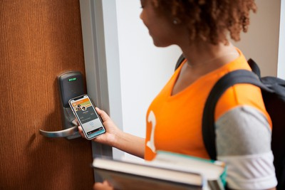 apple contactless student id dorm