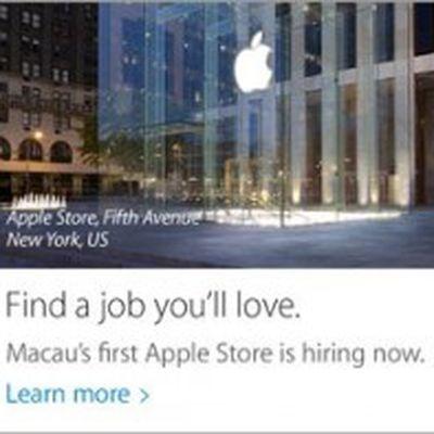 apple hiring macau