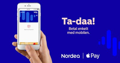 nordea apple pay norway