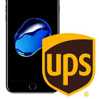 iPhone UPS logo