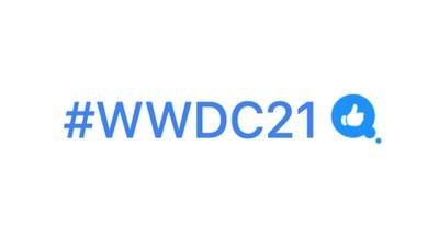 WWDC 2021 Twitter Hashflag