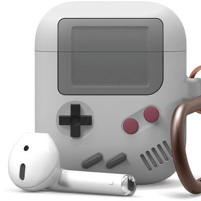 elago airpods case game boy