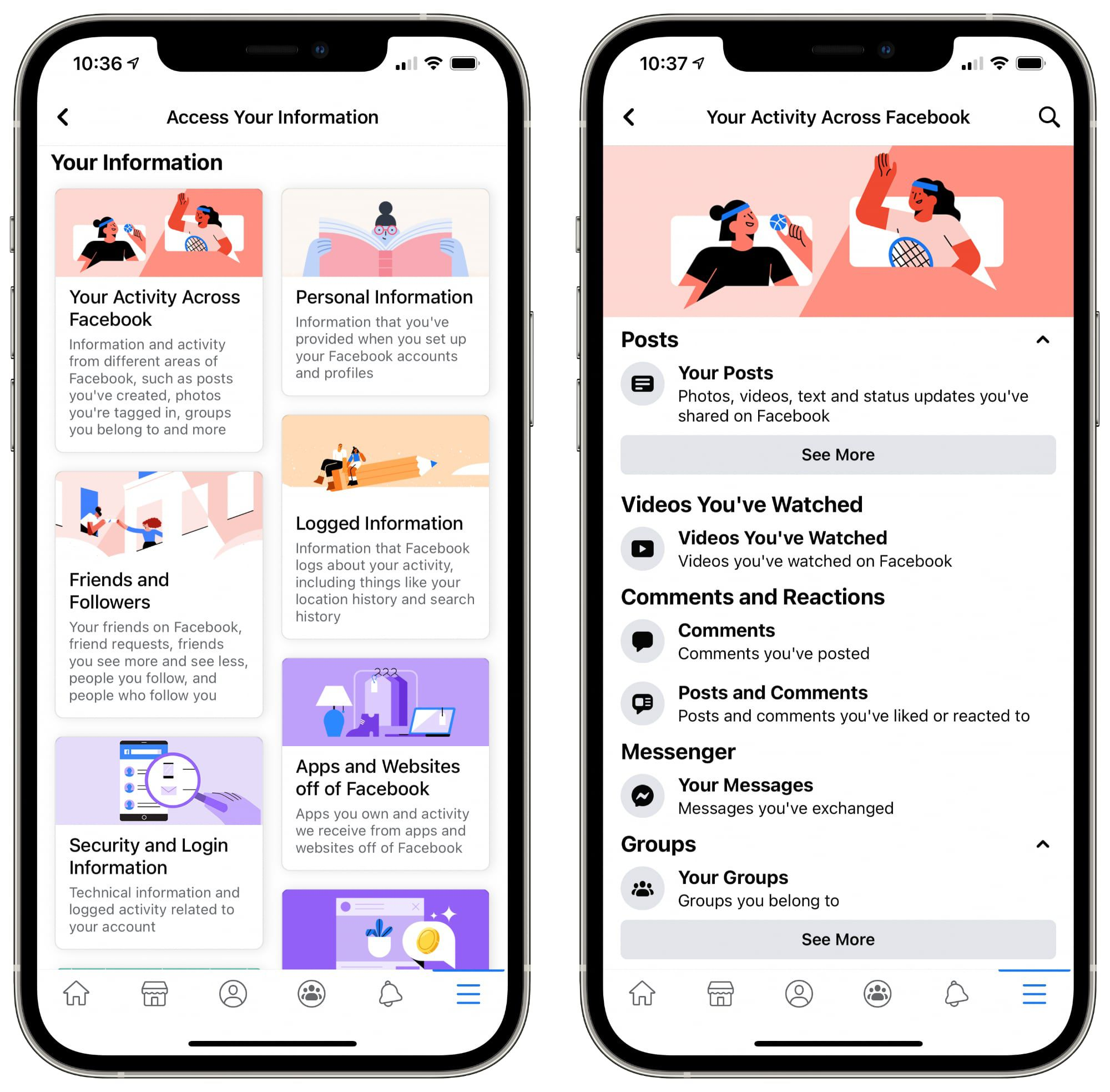 photo of Facebook Updates 'Access Your Information' Tool for Data Management image