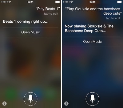 Apple Music and Siri 1