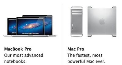 macbook pro mac pro side by