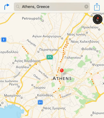 Apple-Maps-Traffic-Greece