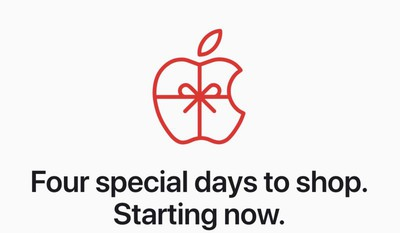 apple black friday event 2019 banner