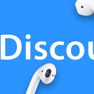 AirPods Discount Feature Blue