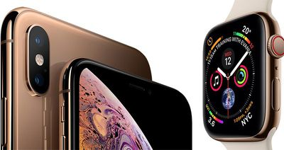 apple watch series 4 and iphone xs