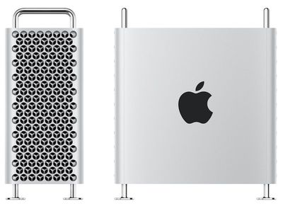 2019 mac pro side and front