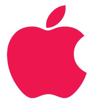 apple red logo