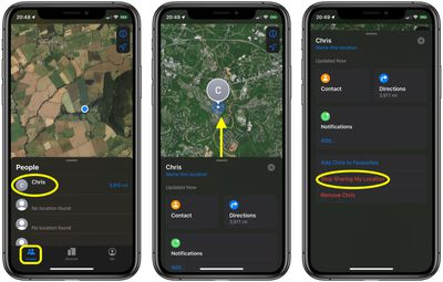 how to stop sharing your location with a friend in find my 1