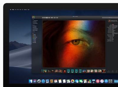 iMac macOS dark mode finder preview 06042018