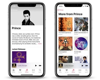 prince new albums apple music