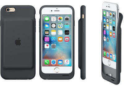 smart battery case gray