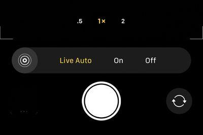 auto live photos iphone 11