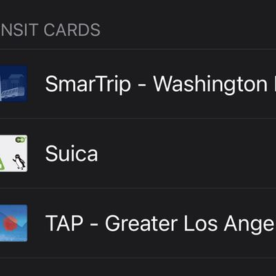 la tap card apple pay
