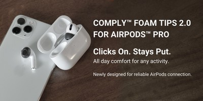 comply 2 0 ear tips airpods pro