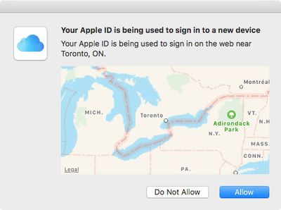 macos sign in 2fa