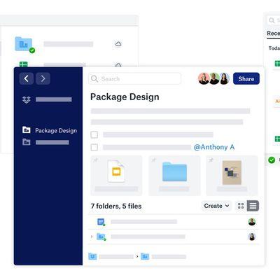 desktop new dropbox app
