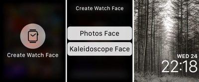 create watch face