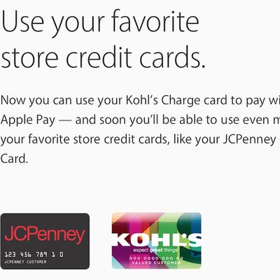 apple pay store cards