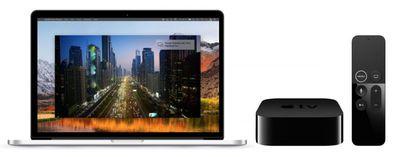 screenshot record apple tv on mac