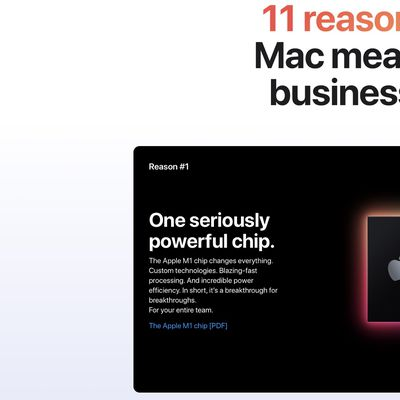 apple mac business page