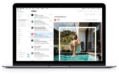 edison mail mac app two pane view