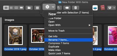 how to batch rename files mac 2
