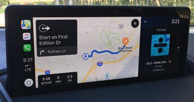 acura rdx carplay maps radio