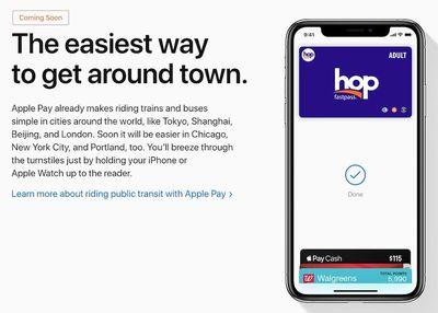 apple pay transit card