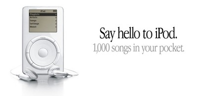 ipod say hello