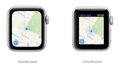 apple watch se series 3 screen