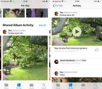 ios 12 photos app new features 1