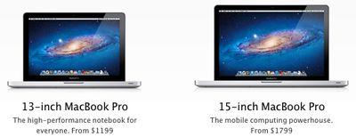 macbook pro 13 15 side by side