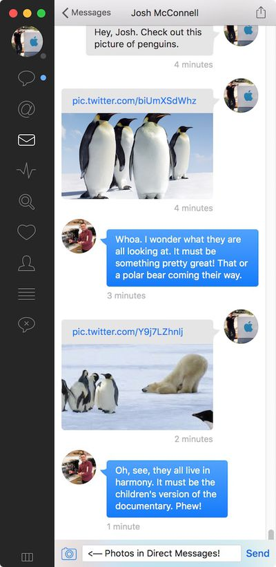 tweetbot for mac photos direct messages
