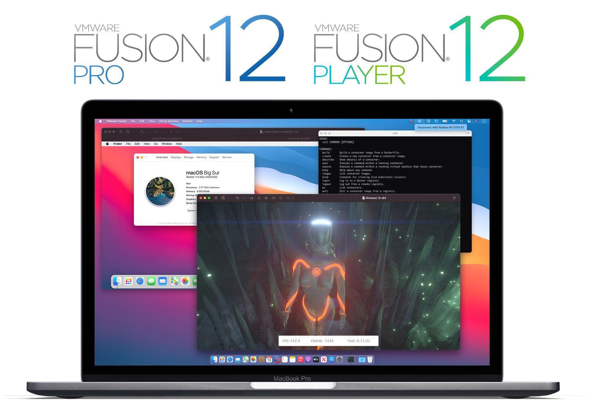 Vmware fusion 12 big sur nat