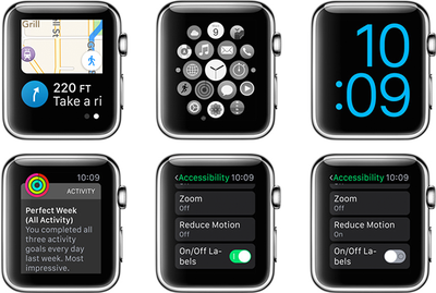 Apple Watch Accessibility Features